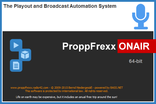 ProppFrexx ONAIR SplashScreen