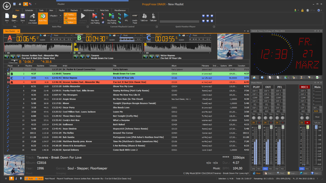 ProppFrexx ONAIR - The Playout and Radio Automation Solution
